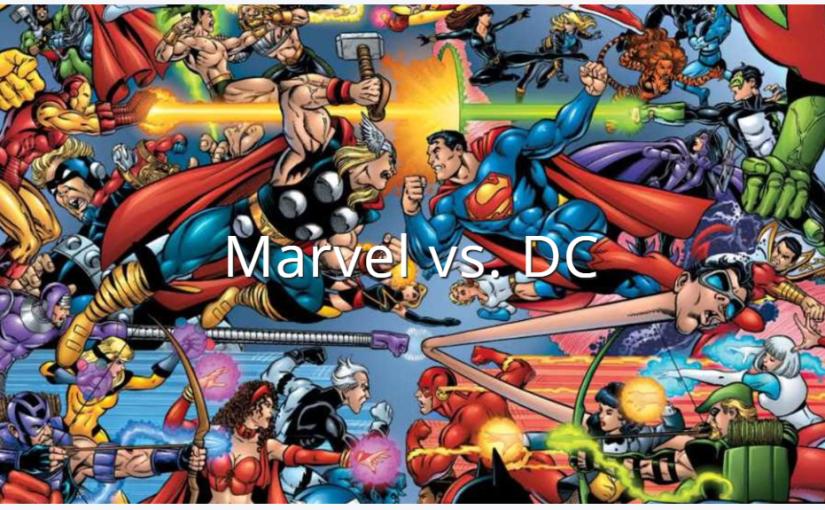 Marvel vs DC: MarchMadness
